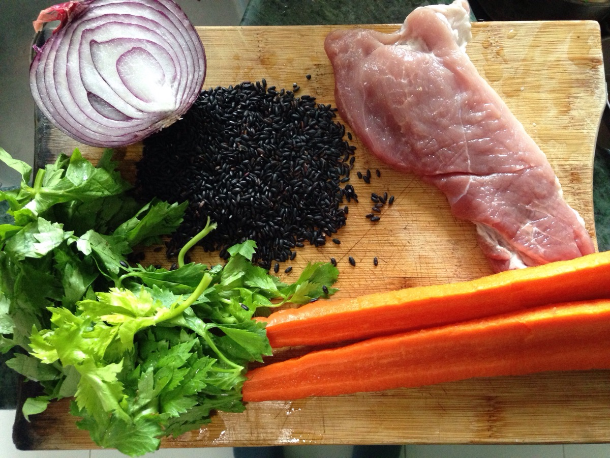 Black Rice Ingredients